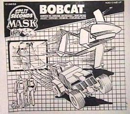 39. M.A.S.K. Split Seconds - Bobcat (198