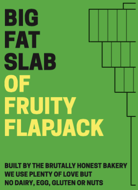 Box of Big Fat Slabs: Fruity Flapjack
