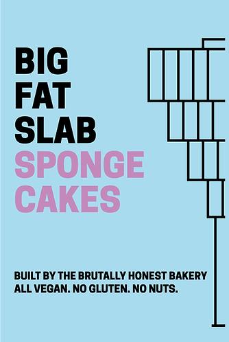 Box of Big Fat Slabs: Sponge Cakes