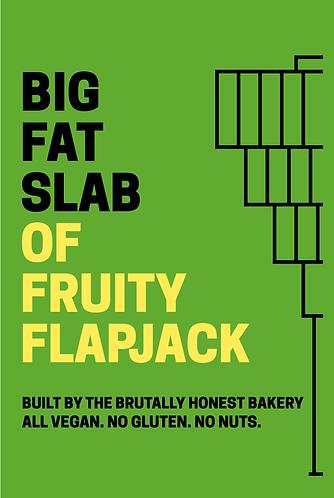 Box of Big Fat Slabs: Fruity Flapjack