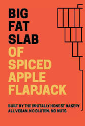 Box of Big Fat Slabs: Spiced Apple Flapjack