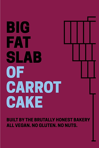 Box of Big Fat Slabs: Carrot Cake and Coffee
