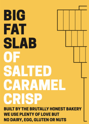 Box of Big Fat Slabs: Salted Caramel Crisp