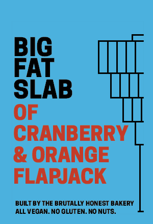 Box of Big Fat Slabs: Cranberry & Orange