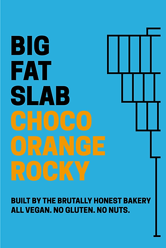 Box of Big Fat Slabs: Choco Orange Rocky