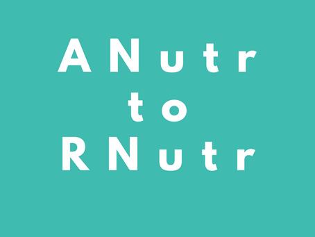 Top tips for RNutr transfer portfolio