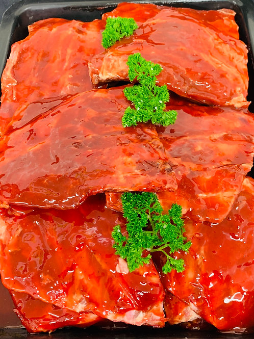 MARINATED PORK RIBS