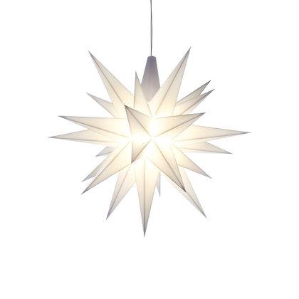 Herrnhuter Mini Plastic Star WHITE (13 cm/5.1 inch)