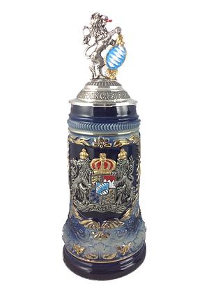 Beer mug/stein - Bavarian crest