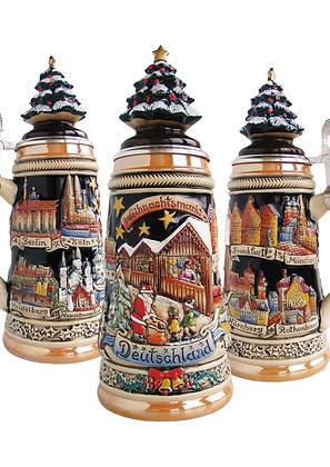 Beer mug/stein - Christmas Market