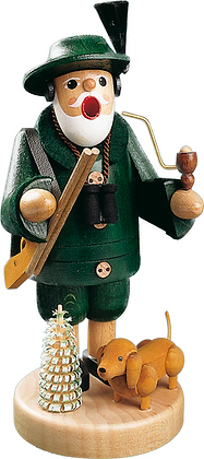 Incense Smoker FORESTER WITH DOG