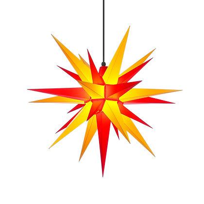 Herrnhuter Plastic Star RED/YELLOW (68 cm/ 27 inch)