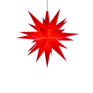 Herrnhuter Mini Plastic Star RED (13 cm/5.1 inch)
