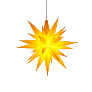 Herrnhuter Mini Plastic Star YELLOW (13 cm/5.1 inch)