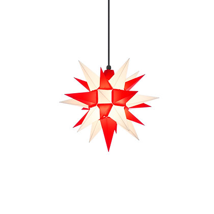 Herrnhuter Plastic Star RED/WHITE (40 cm/16 inch)