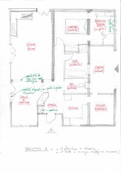 Aménagement d'une maison