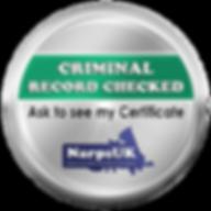 NarpsUK_-_Criminal_Record_Check_Emblem_(