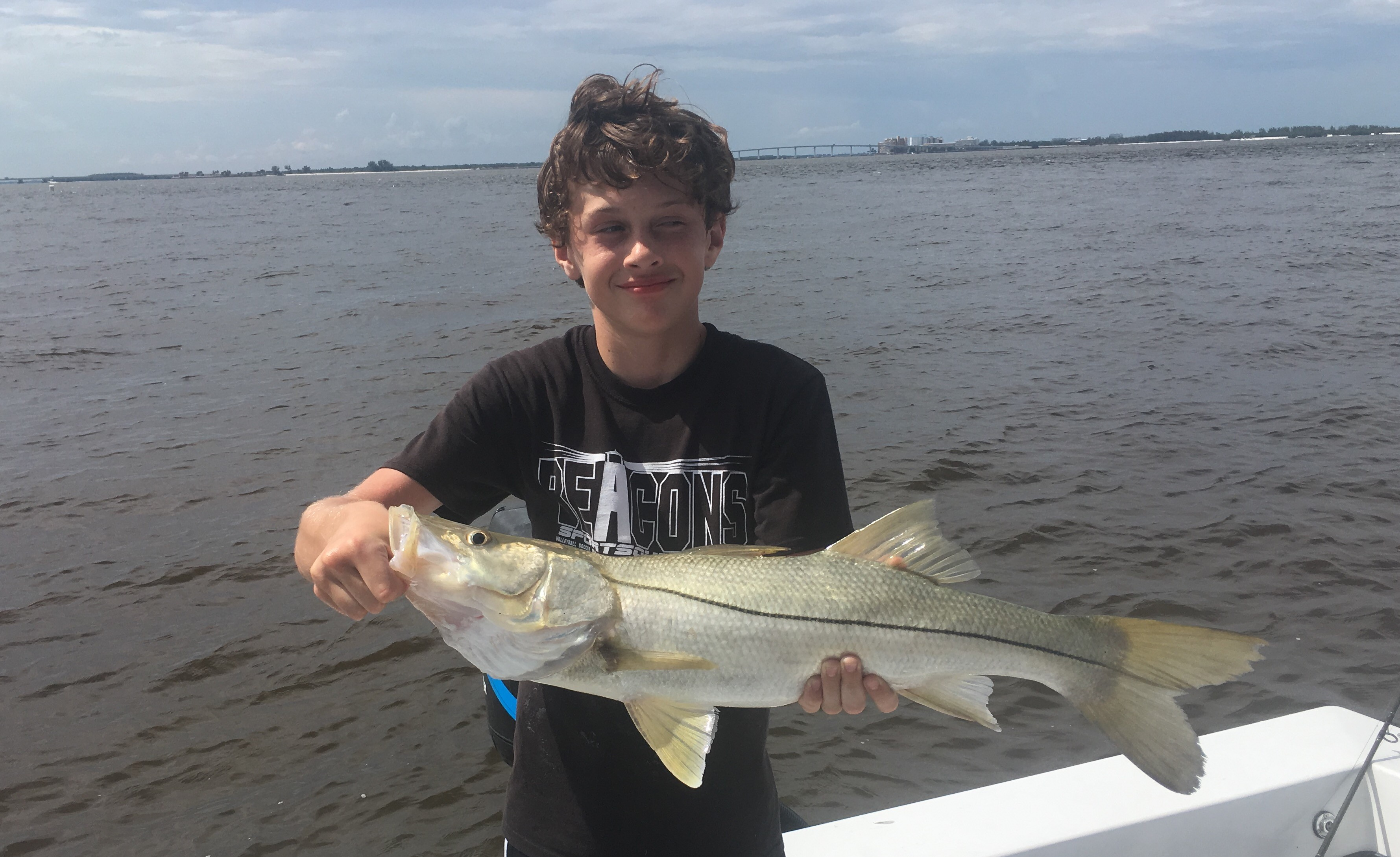 Sanibel Snook kid