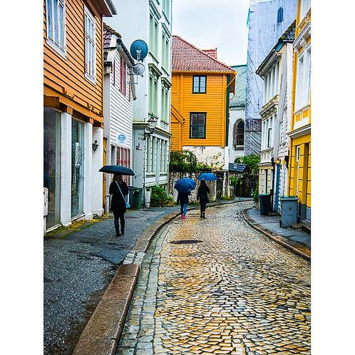 Bergen Street Scene