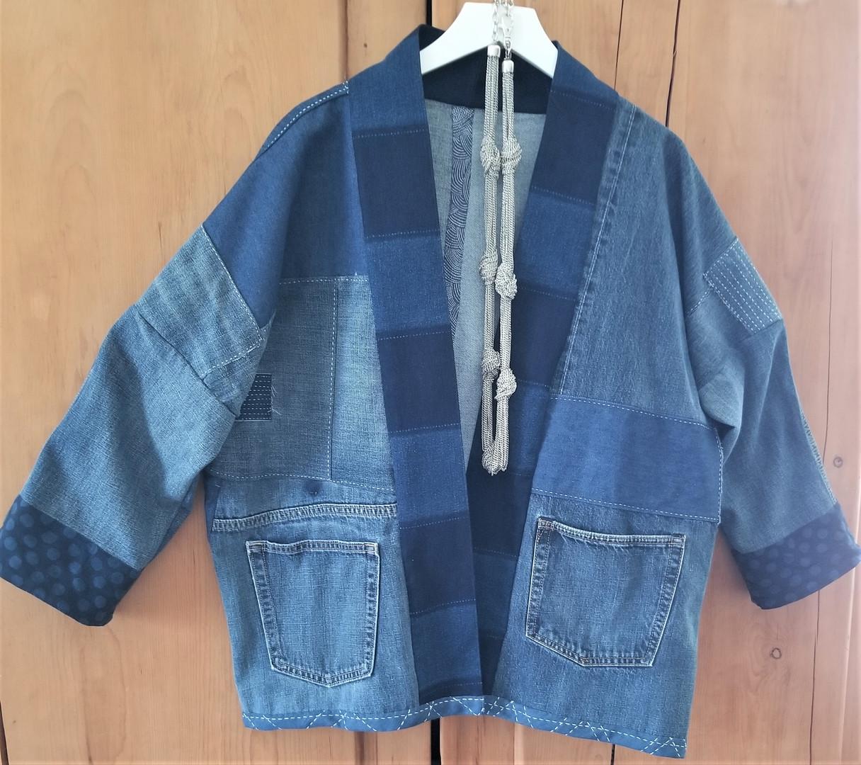 Boro Style Japanese Hanten Jacket