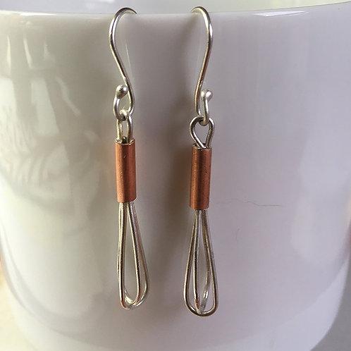 """""""CookWear"""" Whisk Earrings"""