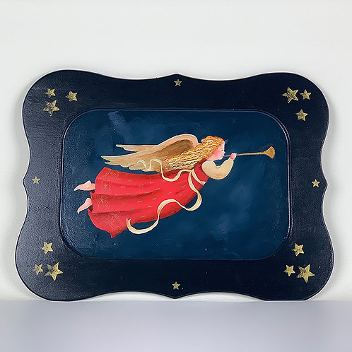 Angel Song tray or wall hanging
