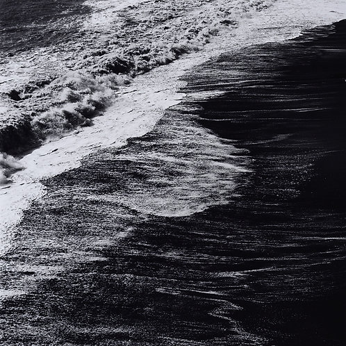 Surf Detail, Dyrholaey, Iceland