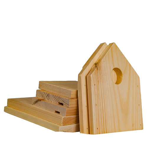 Bird house kit for children of all ages
