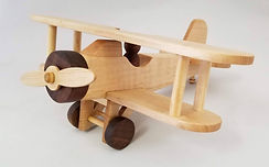 Biplane toy