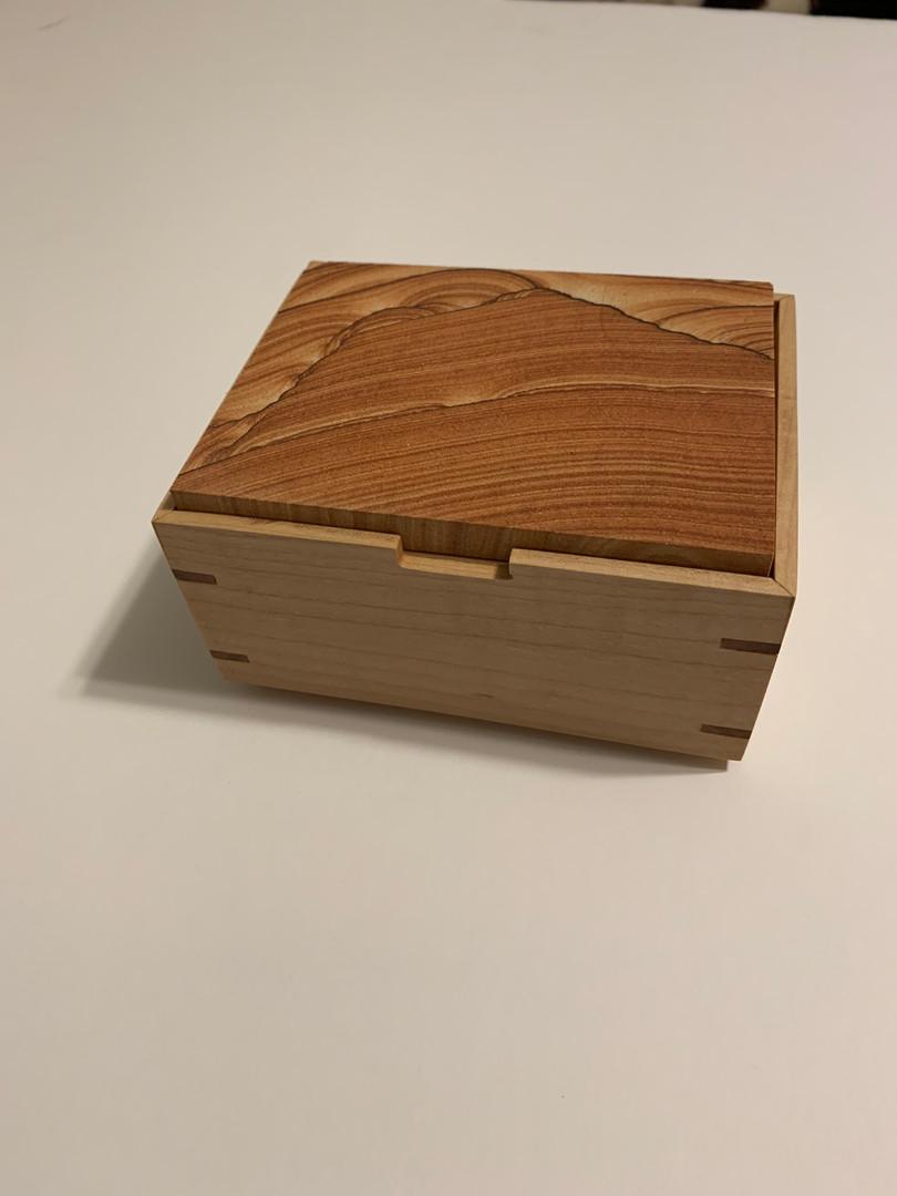 Maple and Sandstone Box