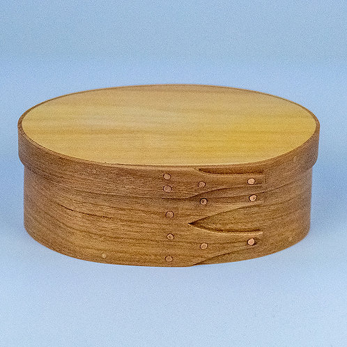 Shaker box with cherry sides and butternut top