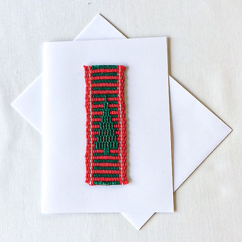 6 Christmas cards with envelopes