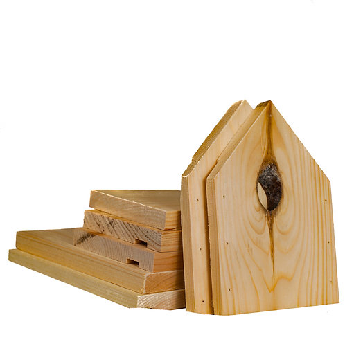 Bird house kit for children of all ages – NATURAL KNOT HOLE