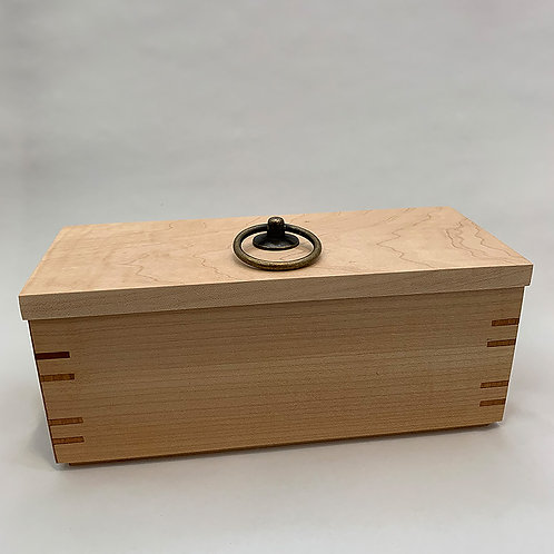 Maple Box with Cherry