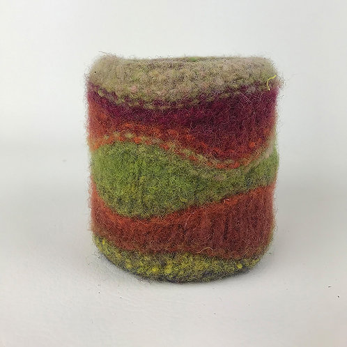Scandia Felted Planter