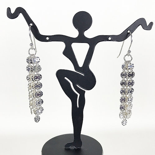 Sparkly Disco Chain Earrings