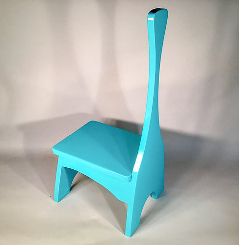 Wood Step Stool with Handle