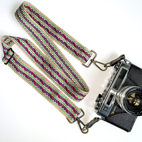 Handwoven Camera Strap-1, special gift for photographers