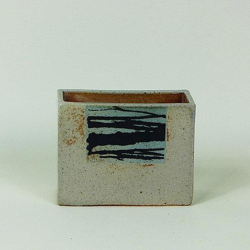 Vase rectangular Small Print Woods