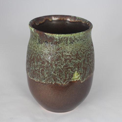 """""""Dark Chocolate"""" vase/mug #1"""