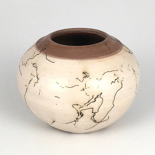 Horsehair Fired Vessel - low fire