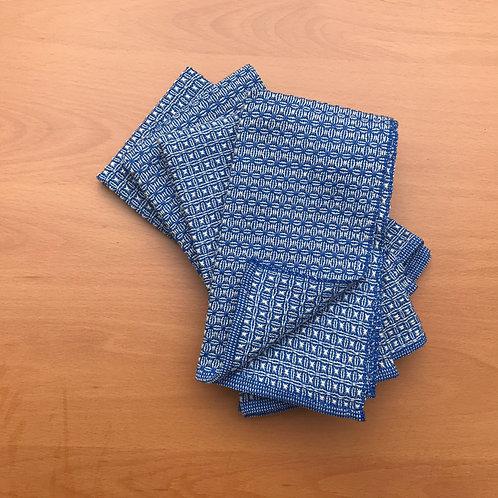 Handwoven napkins - set of four