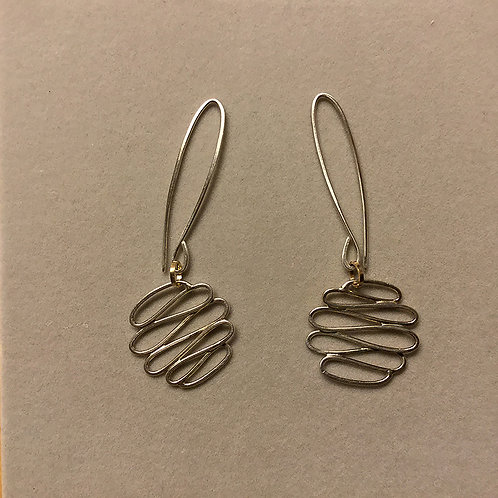 Sterling Silver and Gold Filled Elements Earrings