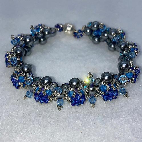 Spiky Tops Beaded Bracelet