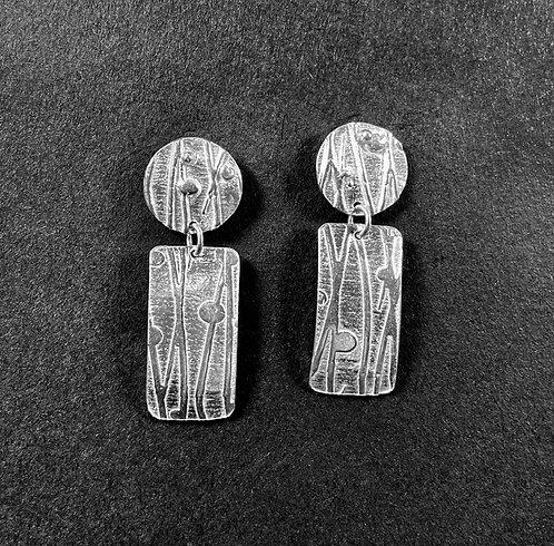 2-Part Handmade Dangle Earrings