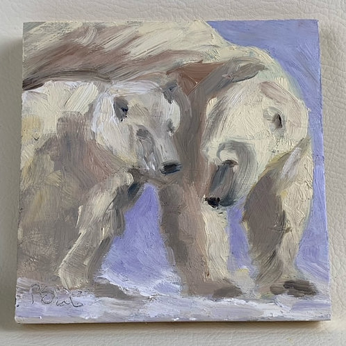 """Polar Bear Pair"""