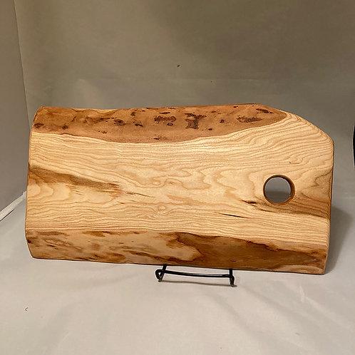Live edge maple cutting board