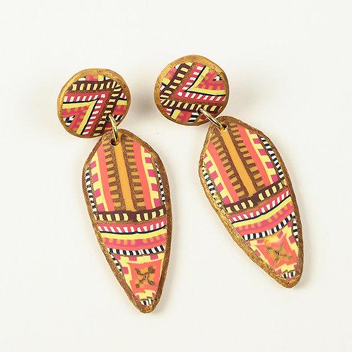 South West Tapestry Earrings