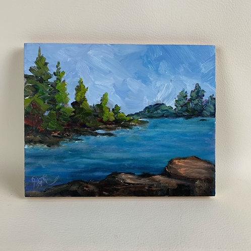 """""""Maine Lake View"""""""