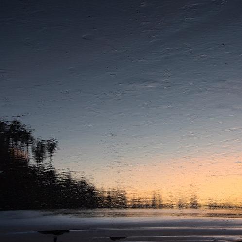 Evening Beach Reflection